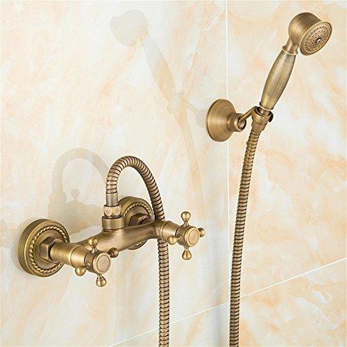 Shower set-Jack Todos los Cobre Antique Grifo Retro Ducha Grifo Ducha Ducha Ducha Cabeza De Ducha