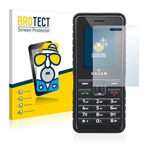 BROTECT 2X Entspiegelungs-Schutzfolie kompatibel mit Kazam Life R2 Bildschirmschutz-Folie Matt, Anti-Reflex, Anti-Fingerprint