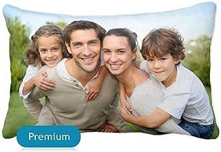 Getsingular Cojines 50x30 Personalizados con Tus Fotos y Texto | Cojines Premium con Impresión Total a 1 Cara hasta la Costura | Relleno Incluido | Tamaño 50 x 30 cm