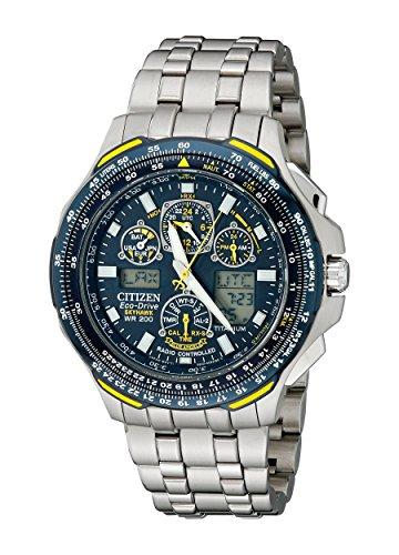 Citizen Men's JY0050-55L Blue Angels Skyhawk A-T Titanium Eco-Drive Watch