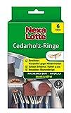 Nexa Lotte Cedarholzringe, Mottenschutz, Natürliches, bewährtes Hausmittel zum Schutz vor...