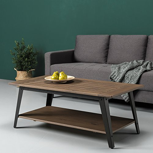 Zinus Wood Metal coffee table