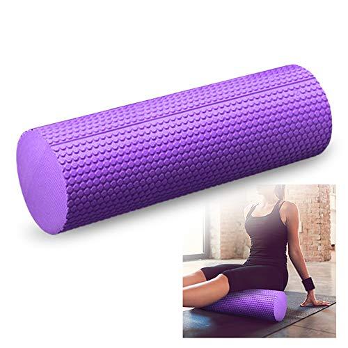 Lixada Faszienrolle Yoga Schaumstoffrolle High-Density Eva Muscle Roller Selbstmassagewerkzeug 30cm/45cm/60cm