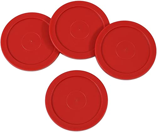 high quality Sunnydaze discount Large 2.5 Inch Replacement popular Air Hockey Table Pucks 4 Pack sale
