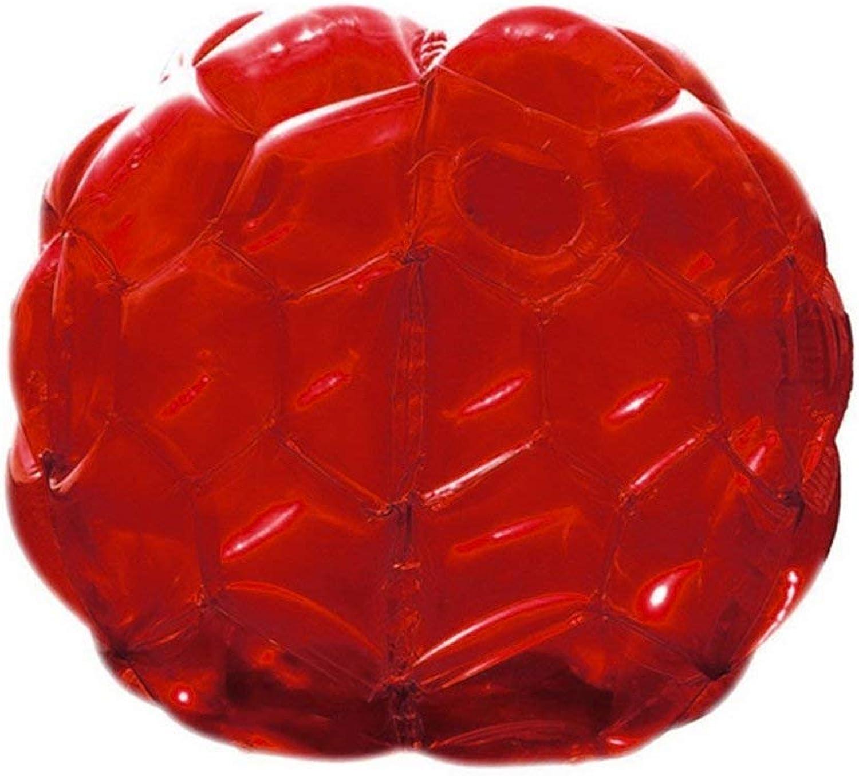 Sairis Aufblasbare Körper Stoßfänger Bälle Blase Fußball Anzüge Lot Lot Lot Umweltfreundliche PVC Lustige Körper Zorb Ball Für Kinder 24 (transparent rot) B07MHCJJVP  Zu einem erschwinglichen Preis fadf86
