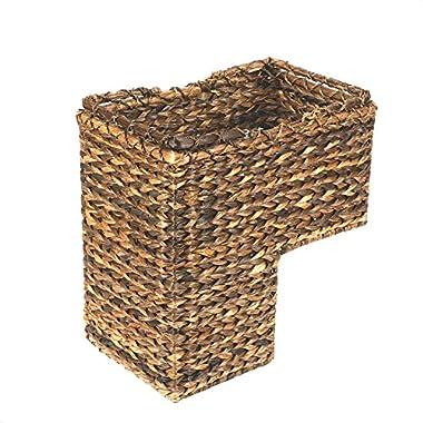 Creative Co-op DA2452 BacBac Leaf Woven Stair Basket