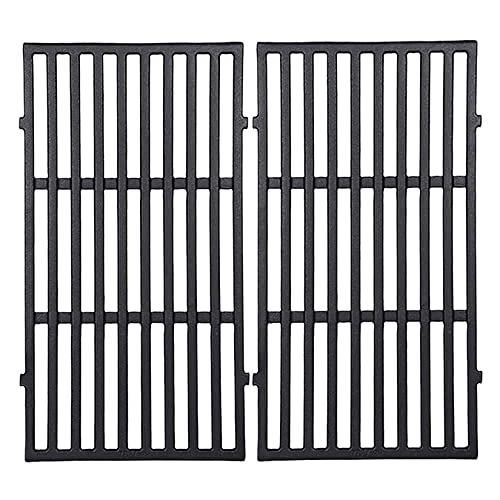 """GGC 17.5"""" Grill Grates for Weber 7637 Spirit E/S-210 E/S-210 200 Series Gas Grills with Front Control Panel,Cast Iron Cooking Grid(2013-2016)"""