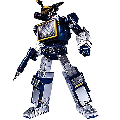 YCLL Transformer Giocattolo War for Cybertron Voyager Class Soundwave 2-Pack with Laserbeak Action Figure 10 Pollici