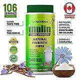 Pure Inulin Fiber Powder, Natural Prebiotic Fibre Supplement, Clear and Taste Free, Increases