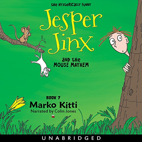 Jesper Jinx and the Mouse Mayhem, Book 7 audiobook cover art