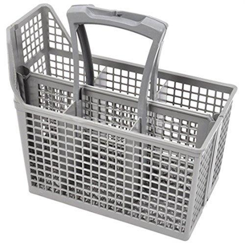 AEG Geschirrspülmaschine Besteck Korb Gittermuster & Lenker (6 Fächern, Lenker & Deckel)
