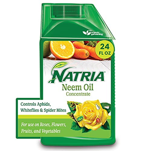 Natria 706240A Neem Oil Concentrate Pest Control and Organic Fungicide, 24-Ounce