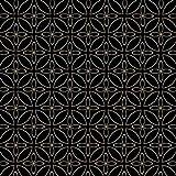 CasaJame Set di 40 (2 Confezioni da 20 Pezzi cad) Tovaglioli in Carta Monouso 3 Strati Veli 33x33cm Colore Oro Nero Motivo Fantasia Geometrica