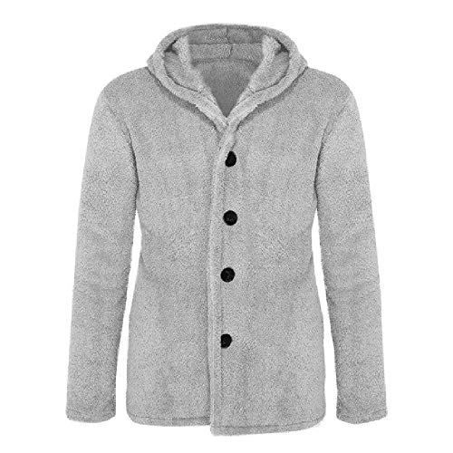 Fluffy fleece hoodies harige jas mannen imitatiebont jas trui mode casual rits dikke bont fleece capuchon jak fleece tops
