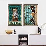 Lustige Badezimmer Toilette Wandkunst Poster Und Drucke,
