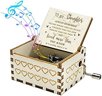 You are My Sunshine Music Box Gift for Daughter from Dad