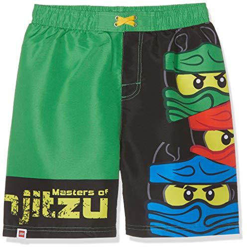LEGO NINJAGO Jungen 5724 Boxershorts, Grün (Vert Vert), 8 Jahre