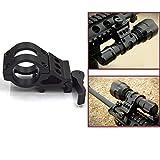 WEREWOLVES M-06 Quick Release 25mm Ring Tactical Scope Sight Taschenlampe Laser Halterungen + 20mm Standard Picatinny/Weaver Schiene