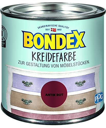 Bondex Kreidefarbe Antik Rot - 0,5L - 386532