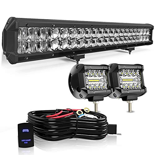 KEENAXIS 20 Inch 5D Upgrade Chipset LED Light Bar
