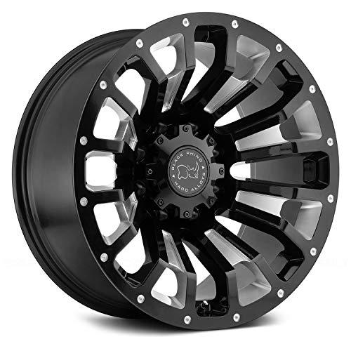 TSW 20' Inch Wheel Rim PINATUBO 20x9.5 6mm 6x139.70 Black Milled