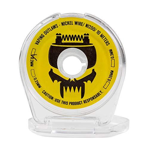 Vaping Outlaws Ni200 Nickel Wire Spool – 10-Meter Spool of...