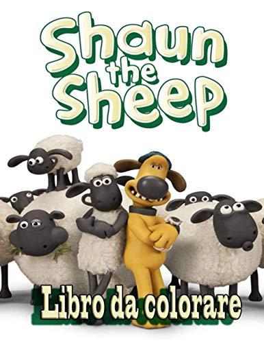 Shaun The Sheep libro da colorare