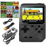 Lunriwis Handheld Spielkonsole,400 Klassische Spielen tragbare Retro-Videospielkonsole Unterstützt...