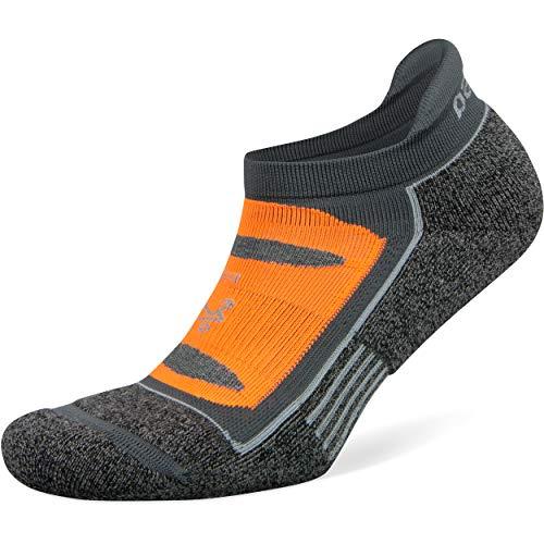 Balega Unisex-Erwachsene Blister Resist No Show Socken, Mittelgrau, Medium