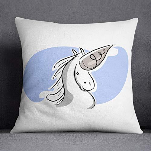 Bonamaison Decorative Cushion Cover, Cotton, Multicolor, 45 x 45 cm