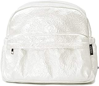 Redland Art Brief Large Capacity Pearl Diaper Bags Fashionable Design Baby Care Bag For Strollers Stylish Travelling Maternity Bags (Color : Pearl White)