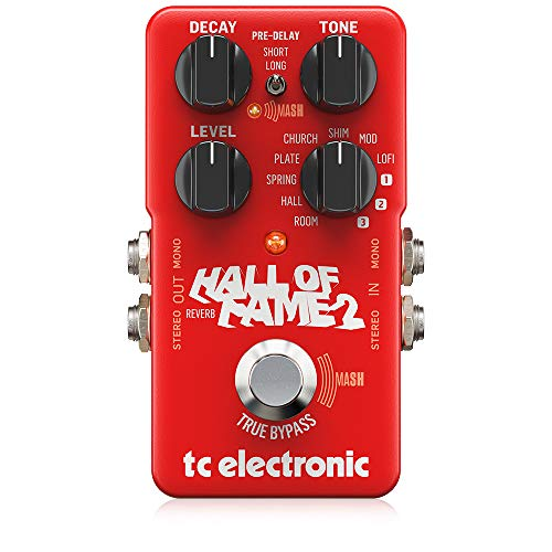 TC Electronic Hall of Fame 2 Reverb-Pedal