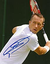 GERMAN TENNIS PLAYER Philipp Kohlschreiber autograph, In-Person signed photo