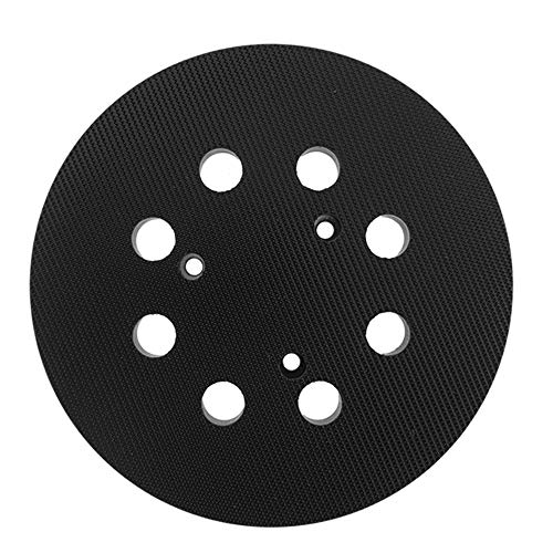 5 Inch Dia 8 Hole Sander Hook and Loop Replacement Sanding pad for Porter Cable 343/343k, 390/390K, 382, 343VSK Orbit Sander