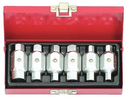 KS Tools 150.9390 Öldienst-Schlüssel-Satz, 6-tlg.