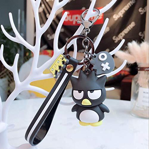 XHYKL Karikatur Keychain Kaninchen-Nette Unisexschlüsselkette Beutel-hängende Greifer-Maschinen-Geschenk-Tätigkeiten Fördernde Geschenke Kinderspielwaren