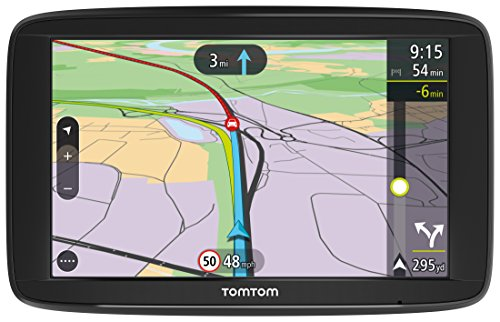 TomTom  Car Sat Nav VIA 62, 6 Inch with Handsfree Calling, Lifetime Traffic via Smartphone and WE Maps, Resistive Screen