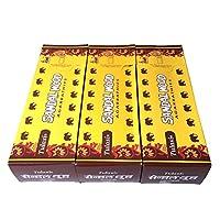 サンダルウッド香スティック 3BOX(18箱) /TULASI SANDAL WOOD/インセンス/インド香 お香 [並行輸入品]