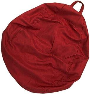 Childrens & Adults Toys Storage Bean Bag,Stuffed Animal Storage Bean Bag,Living Room Bean Bags,Chair Slipcover,Chair Cover...