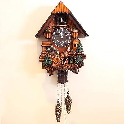Reloj De Pared Relojes Música De Objetos De Decoración De Salón Mensaje Mute En Horas De