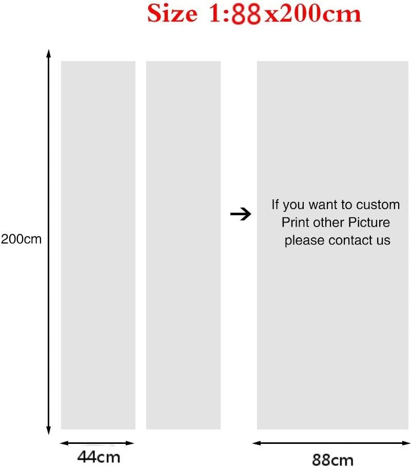 KPVK 3D Autocollant De Porte cr/éative Porte int/érieure Stickers Astronomie des /étoiles plan/étaires de la Voie lact/ée 77x200cm Art Peintures Murales Amovible Etanche La Chambre des Enfants