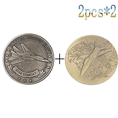 Us Air Force,Bomber,Moneta Commemorativa,Sfida Coin,F-14,F-16,F-35,P-47,Alta Qualità,Set con L'Imballaggio/E/Codice uniforme