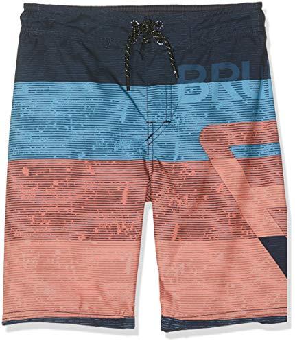 Brunotti Jungen SS19 Kelvin JR Boys Shorts Badeshort, Graphite Blue, 152