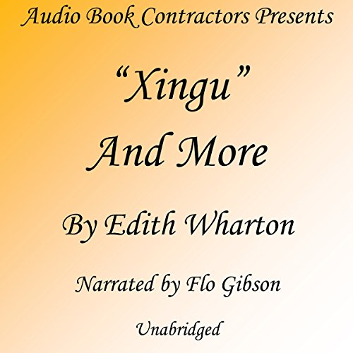 """Xingu"" and More audiobook cover art"