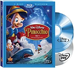 pinocchio 70th anniversary blu ray