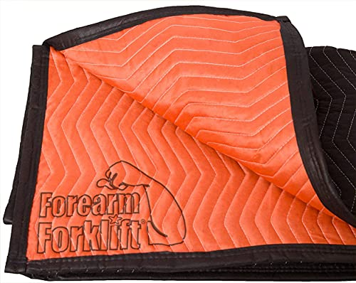 Forearm Forklift FFMB Full Size Medium Weight Quilted Moving Blanket