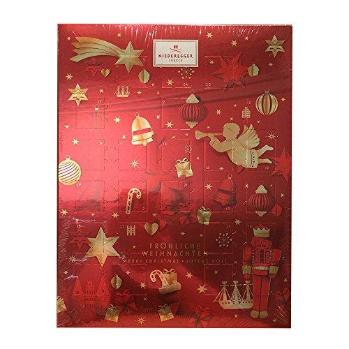 Niederegger Marzipan Glamour Advent Calendar 500 g/17.6 oz NEW