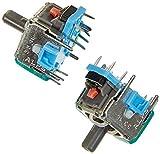 ENET - Juego de 2 palancas de reparación analógicas con botón 3D,...