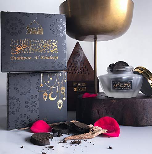 Dukhoon Al Khaleeji Oud Bakhoor - Luxury Arabic Incense. Can be Used on an...