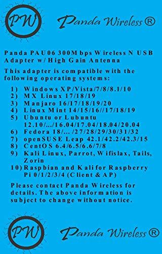 Panda Wireless PAU06 300Mbps 4